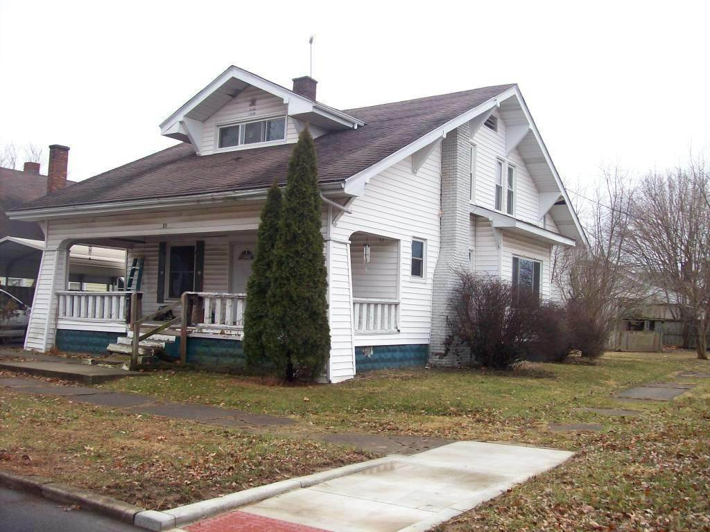 Single Family Homes por un Venta en 89 NW D Street Linton, Indiana 47441 Estados Unidos