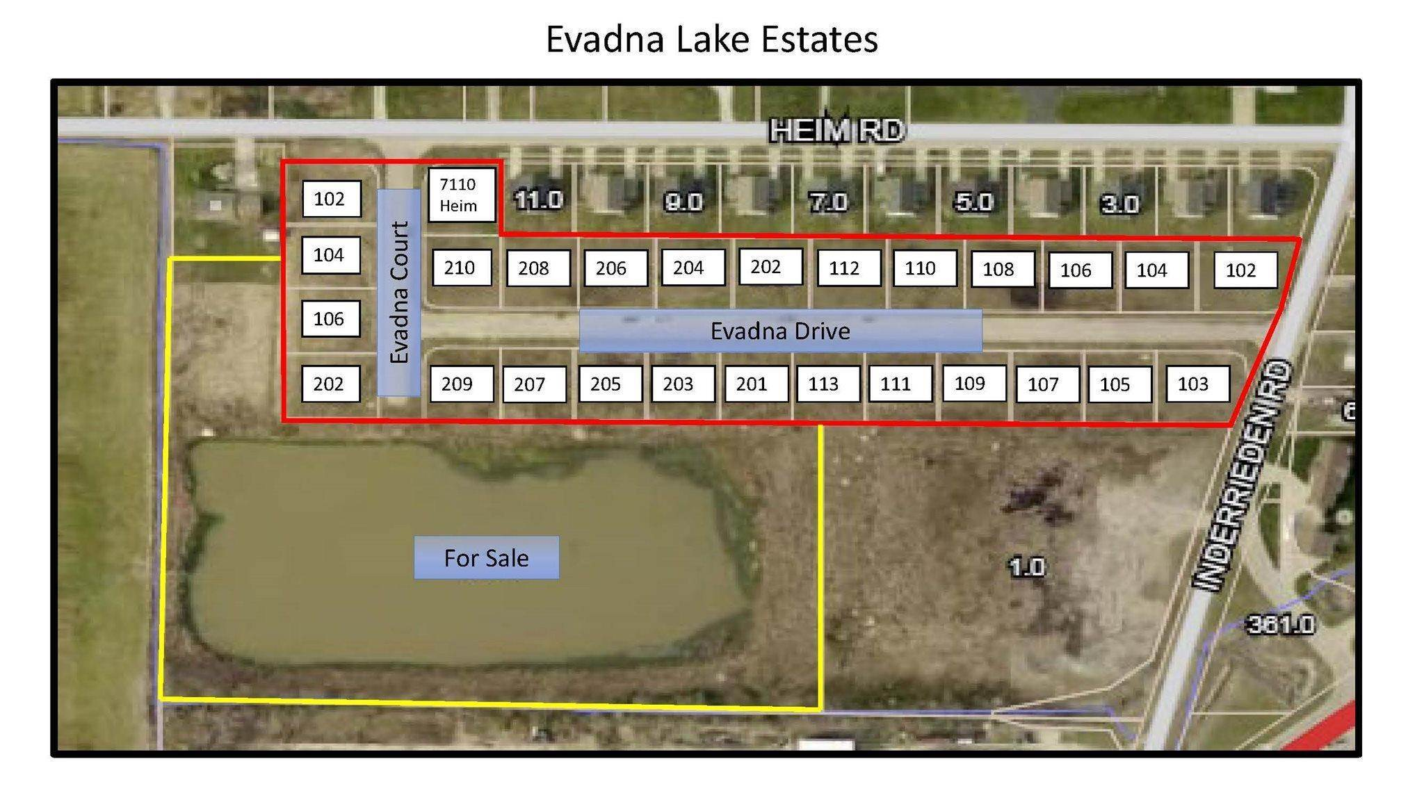 Residential Lots & Land for Sale at 209 Evadna Drive Boonville, Indiana 47610 United States