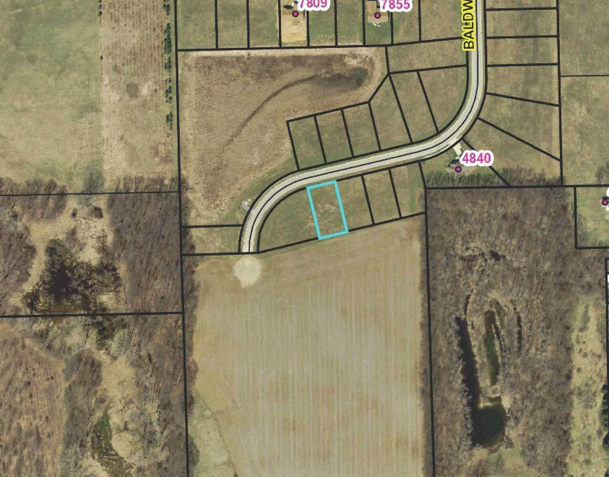Residential Lots & Land for Sale at N Baldwin Road North Webster, Indiana 46555 United States