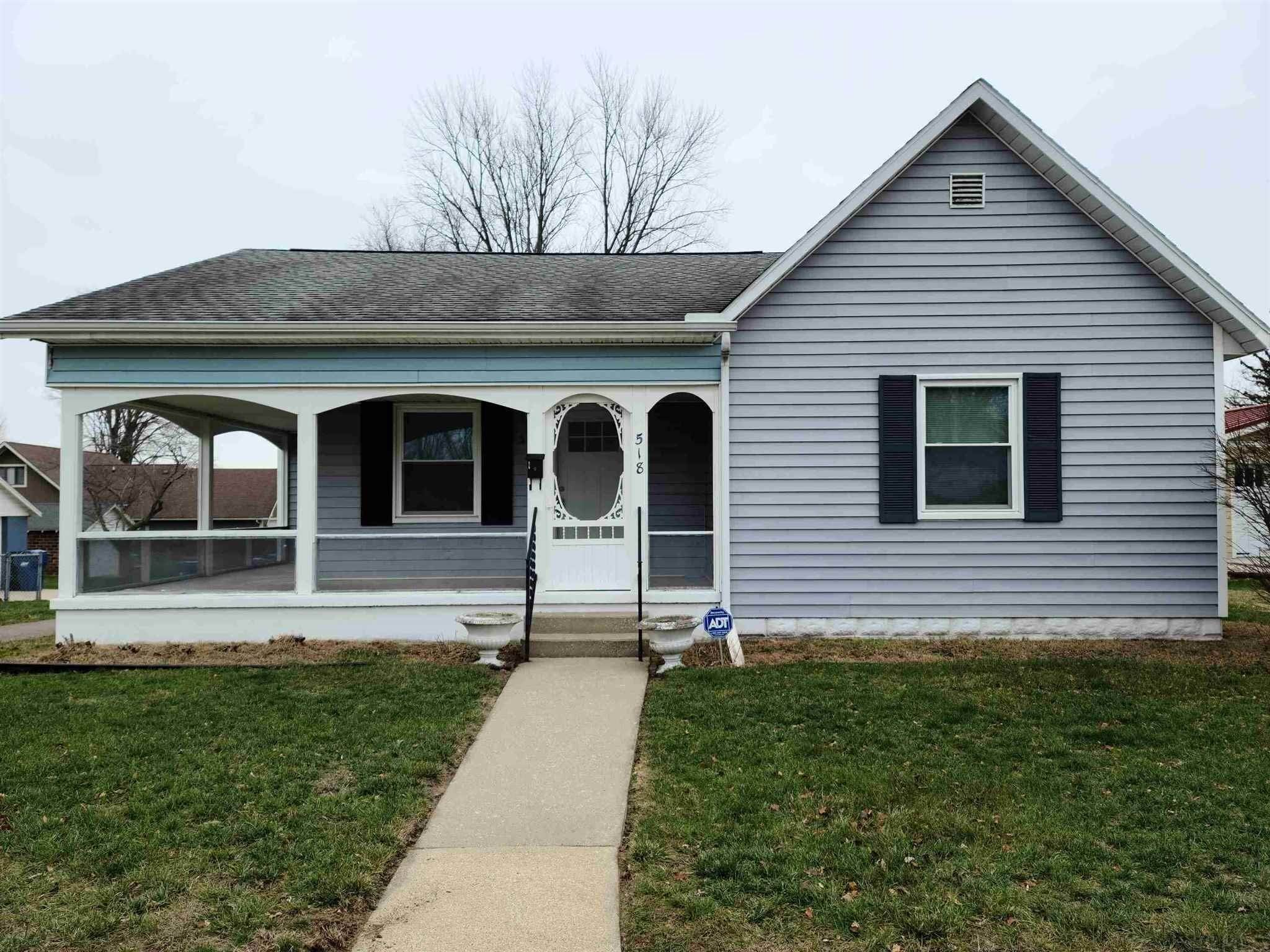 Single Family Homes for Sale at 518 S Plymouth Street Culver, Indiana 46511 United States