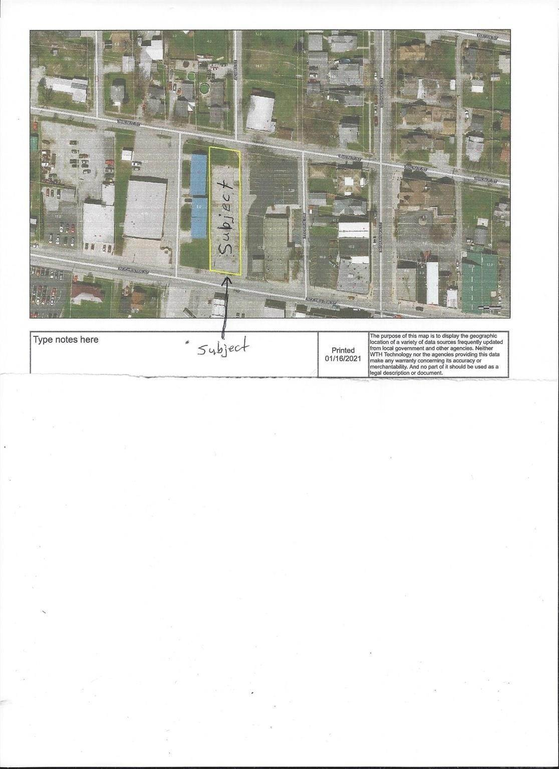 Commercial Land for Sale at 203 W Rochester Street Akron, Indiana 46910 United States