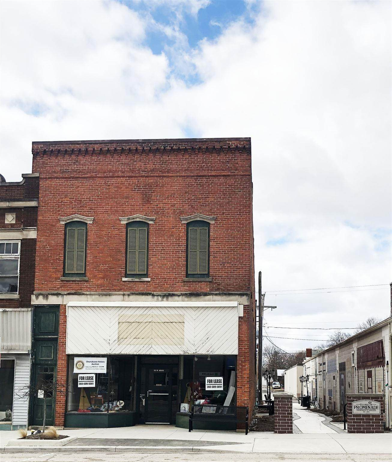 Commercial for Sale at 111 Main Street Churubusco, Indiana 46723 United States