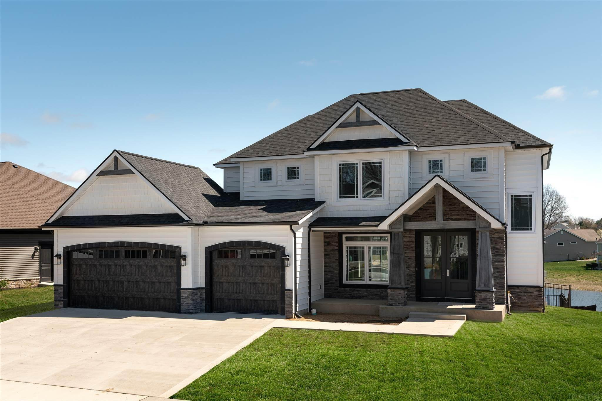 Single Family Homes pour l Vente à 54780 PIERRE TRAILS HOMESITE 161 Drive Osceola, Indiana 46561 États-Unis