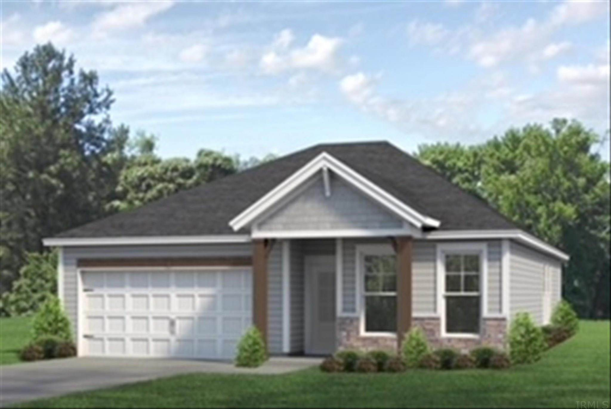 Single Family Homes pour l Vente à 1260 Helen Court Boonville, Indiana 47601 États-Unis