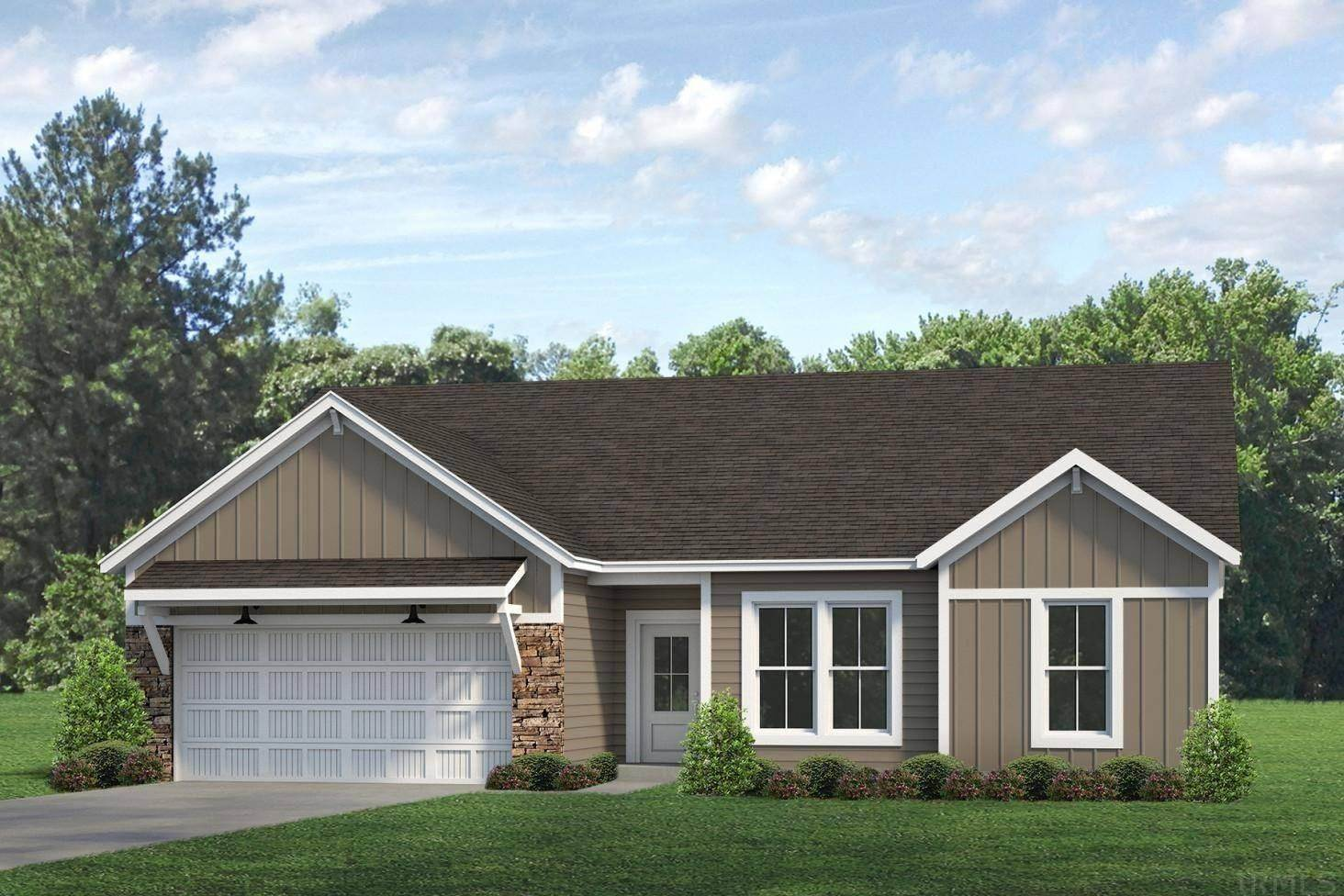 Single Family Homes pour l Vente à 1325 Helen Court Boonville, Indiana 47601 États-Unis