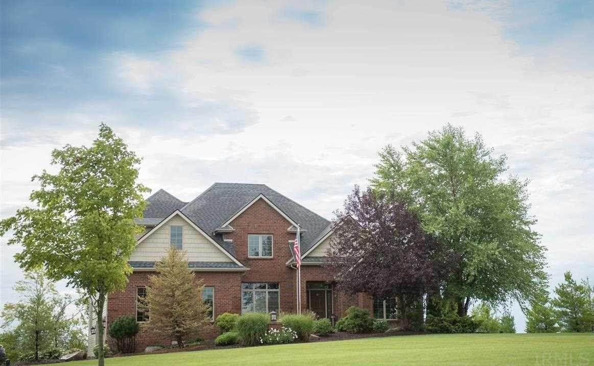 Single Family Homes pour l Vente à 10433 N 300 E Roanoke, Indiana 46783 États-Unis