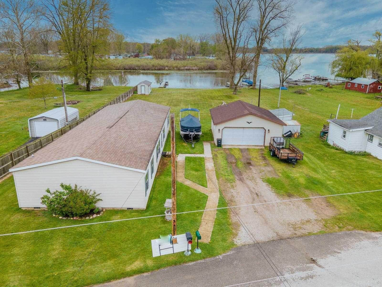 Manufactured Home for Sale at 10113 N Jones Lake Road Rome City, Indiana 46784 United States