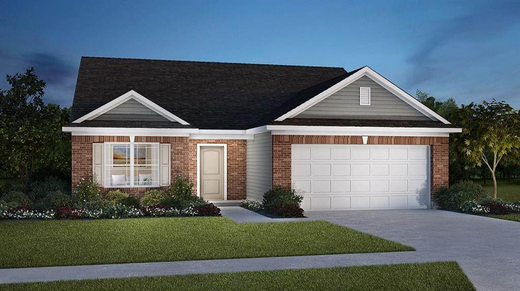 Single Family Homes pour l Vente à 1398 Bontrager Lane Shelbyville, Indiana 46176 États-Unis