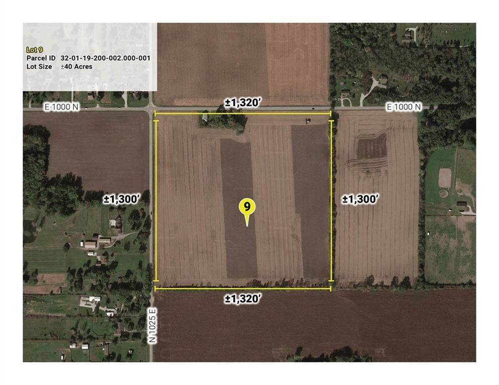 Land for Sale at 10643 E County Road 1000 N Road Brownsburg, Indiana 46112 United States