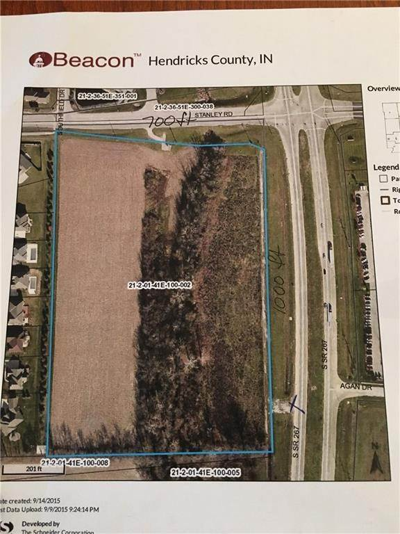Land for Sale at 1737 Stanley Plainfield, Indiana 46168 United States