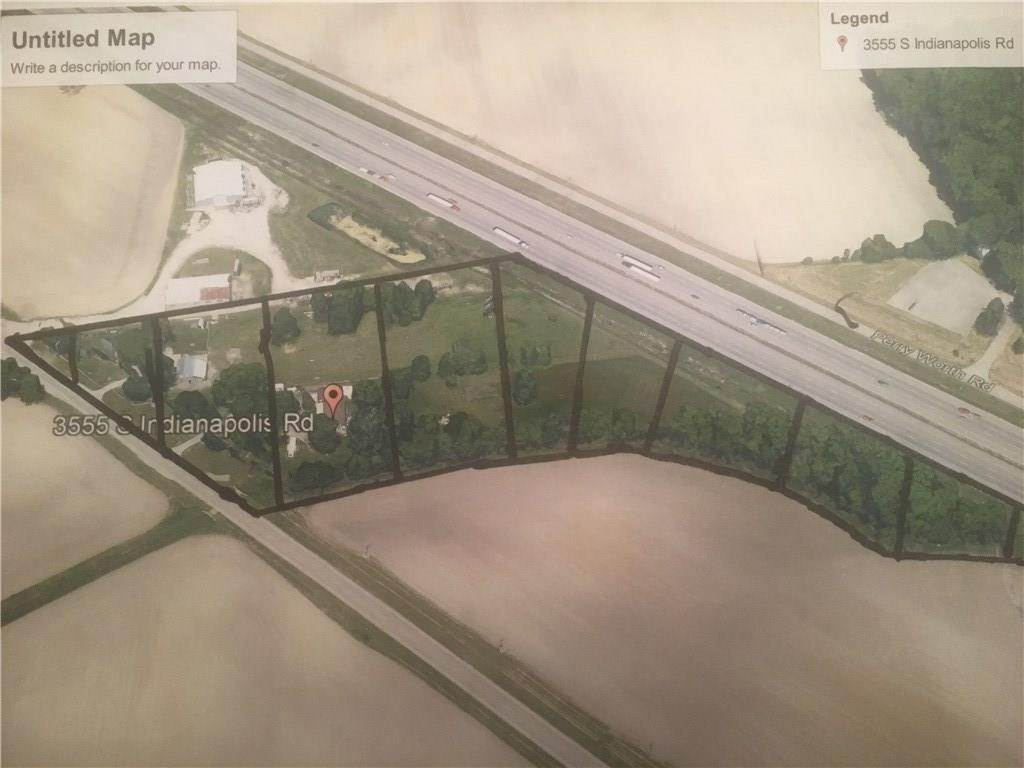 Land for Sale at 3515/3555 S Indianapolis Road Lebanon, Indiana 46052 United States