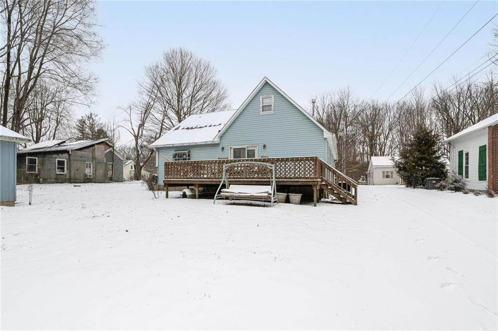 Single Family Homes por un Venta en 303 Market Street Carthage, Indiana 46115 Estados Unidos