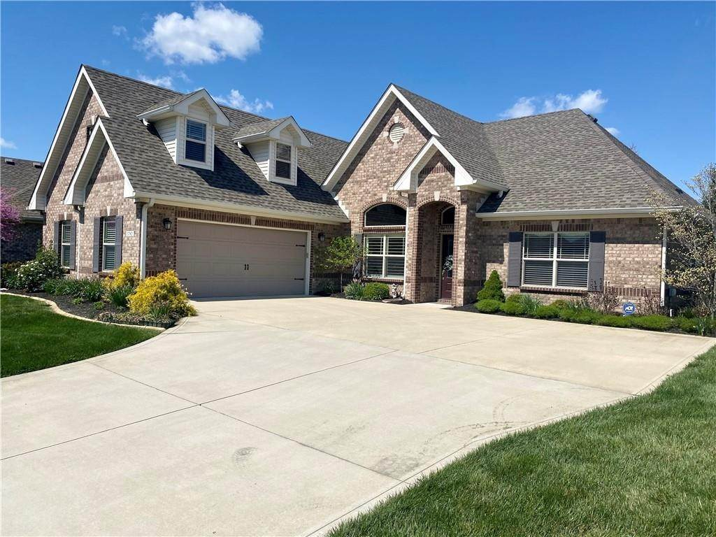 Single Family Homes for Sale at 3792 Waterfront Way Plainfield, Indiana 46168 United States
