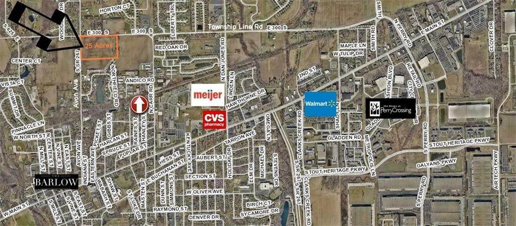 Land for Sale at 7233 E County Road 300 Plainfield, Indiana 46168 United States