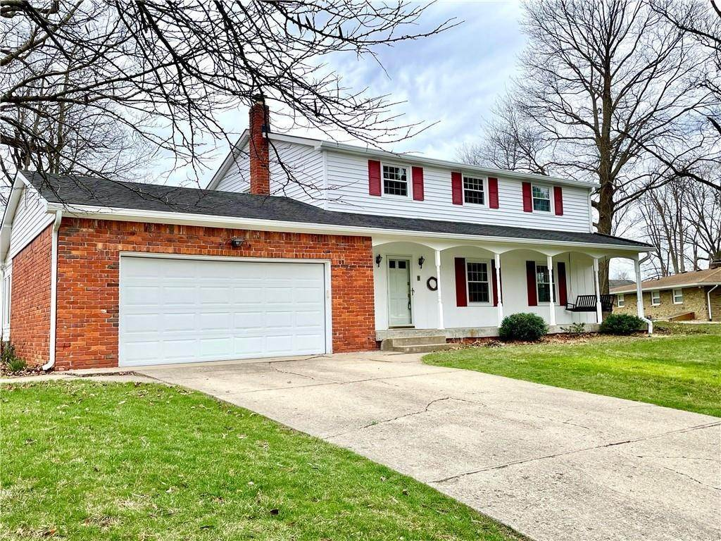 Single Family Homes for Sale at 207 Narcissus Drive Indianapolis, Indiana 46227 United States