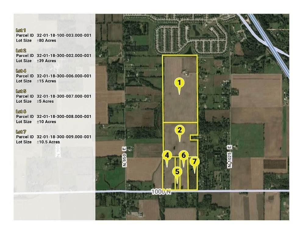 Land for Sale at 10293 N County Road 950 E Road Brownsburg, Indiana 46112 United States