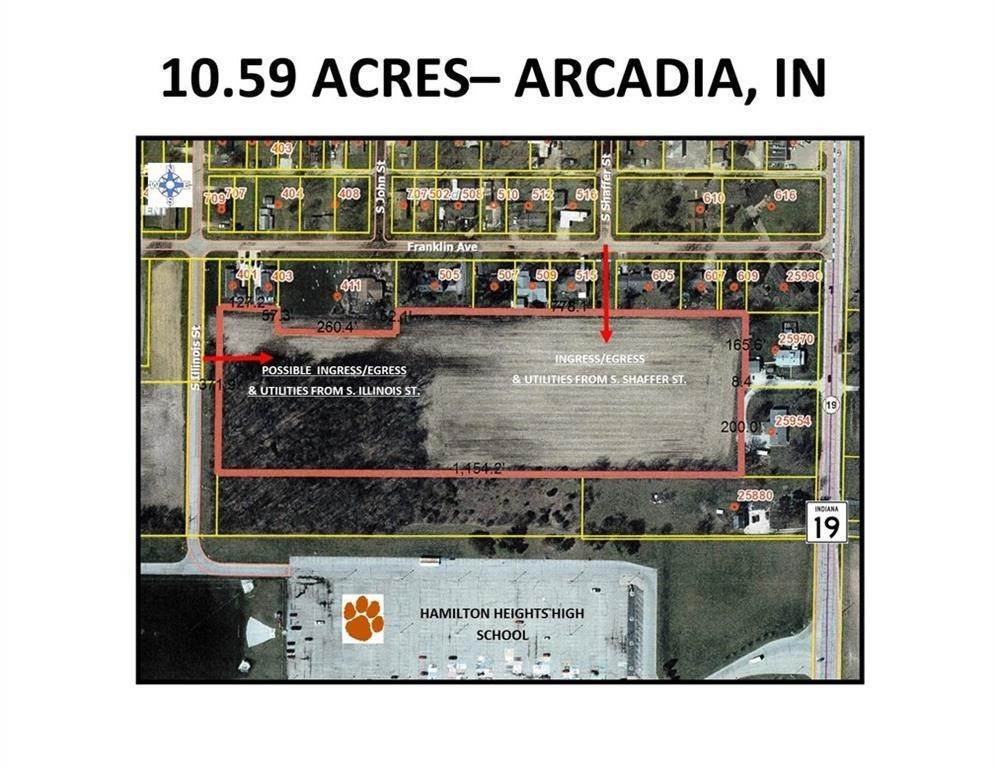 Land for Sale at S Illinois Street Arcadia, Indiana 46030 United States