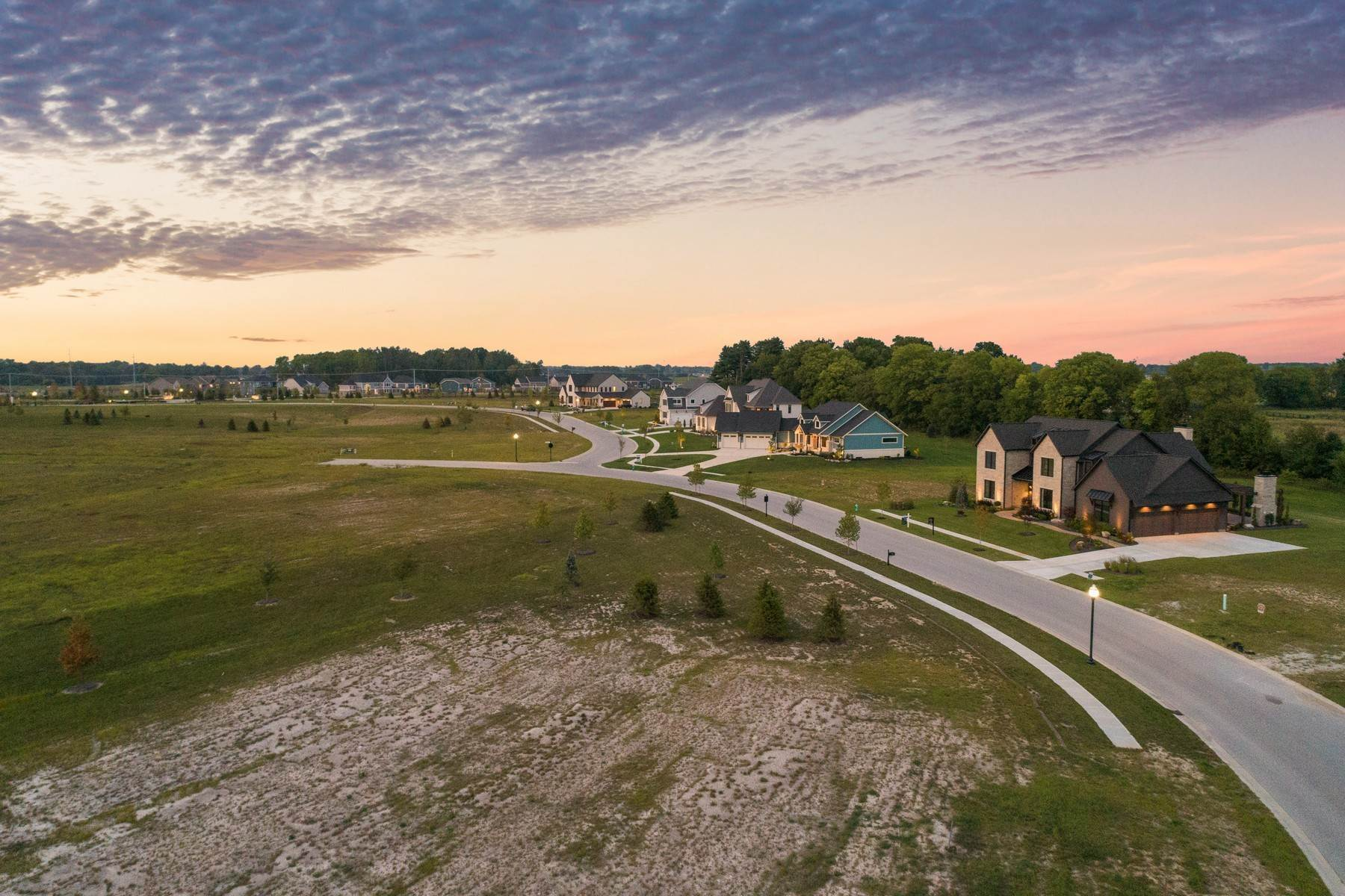 13. Land for Sale at New Zionsville's Development - Pemberton 8080 Totton Court Zionsville, Indiana 46077 United States
