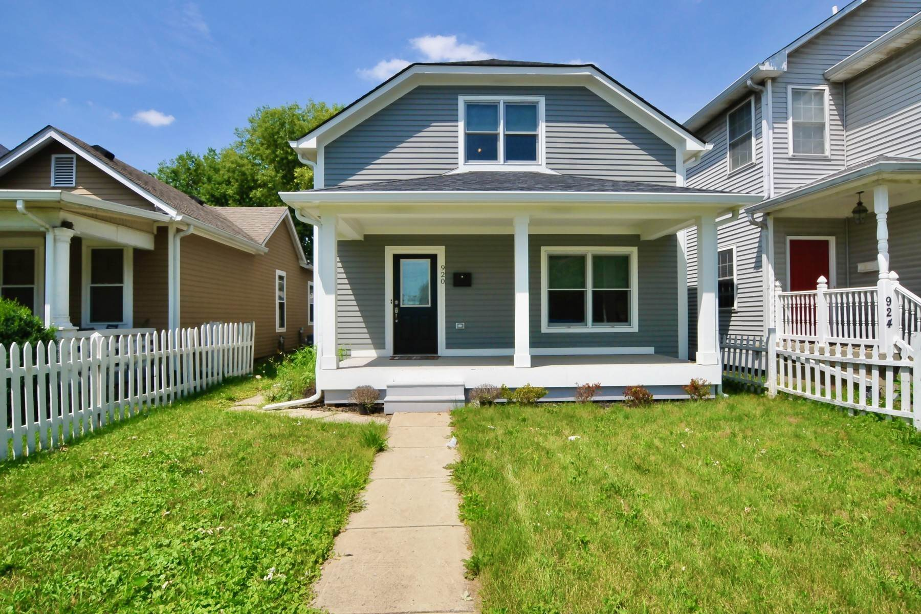 Single Family Homes в Beautifully Updated 920 North California Street Indianapolis, Индиана 46202 Соединенные Штаты