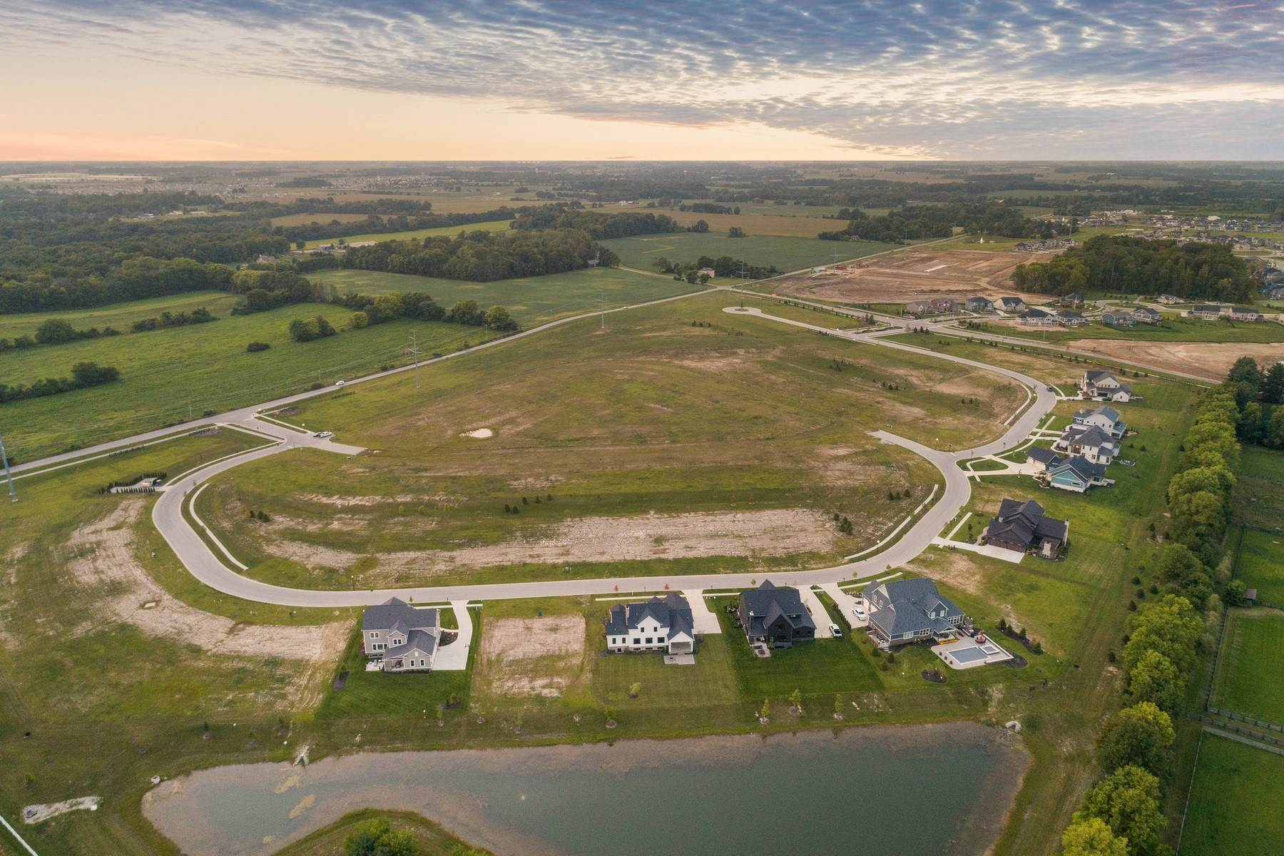 8. Land for Sale at New Zionsville's Development - Pemberton 8150 Melborne Place Zionsville, Indiana 46077 United States