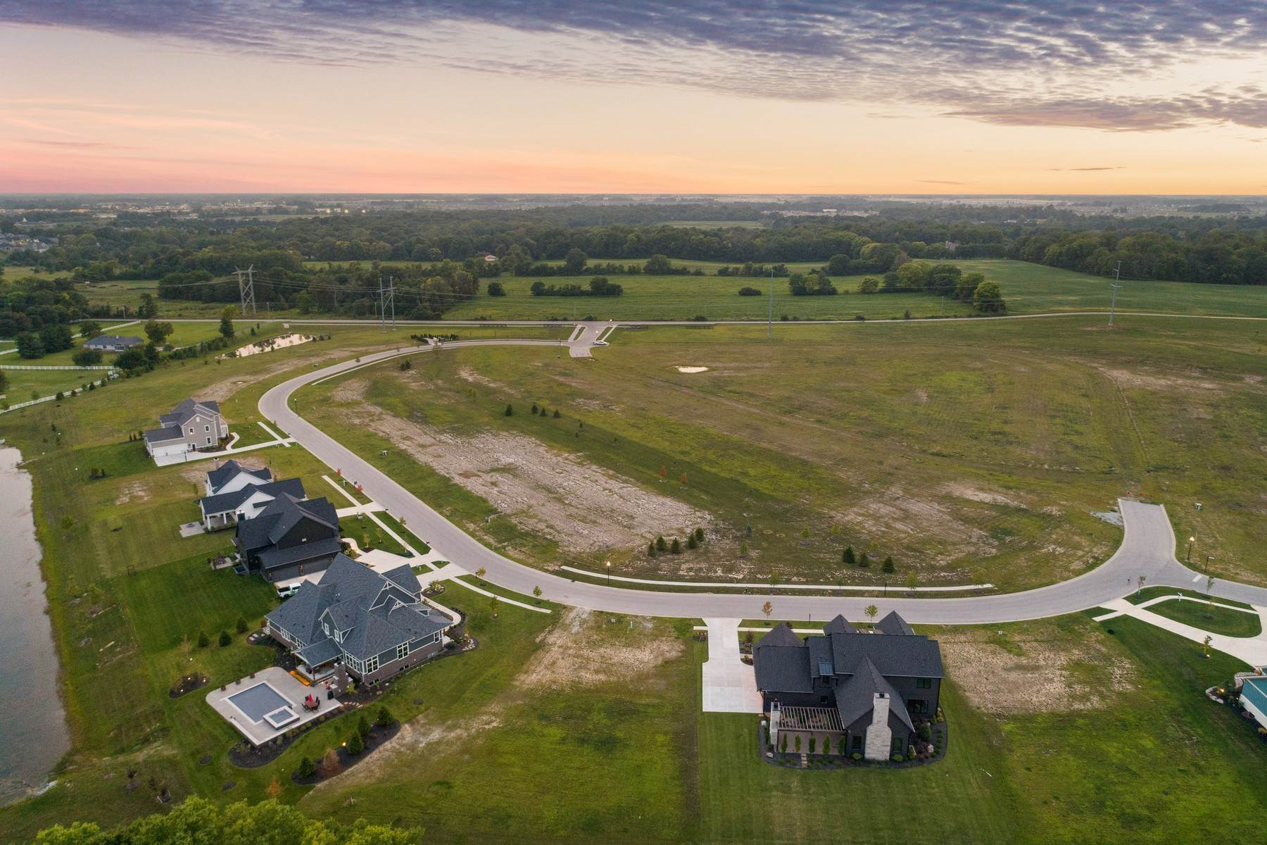 9. Land for Sale at New Zionsville's Development - Pemberton 8150 Melborne Place Zionsville, Indiana 46077 United States