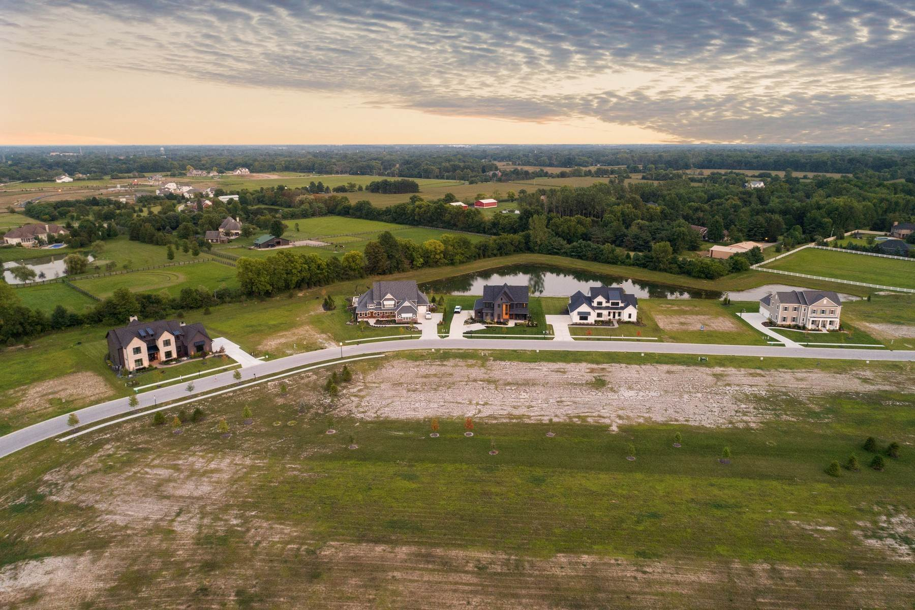 8. Land for Sale at New Zionsville's Development - Pemberton 8080 Totton Court Zionsville, Indiana 46077 United States