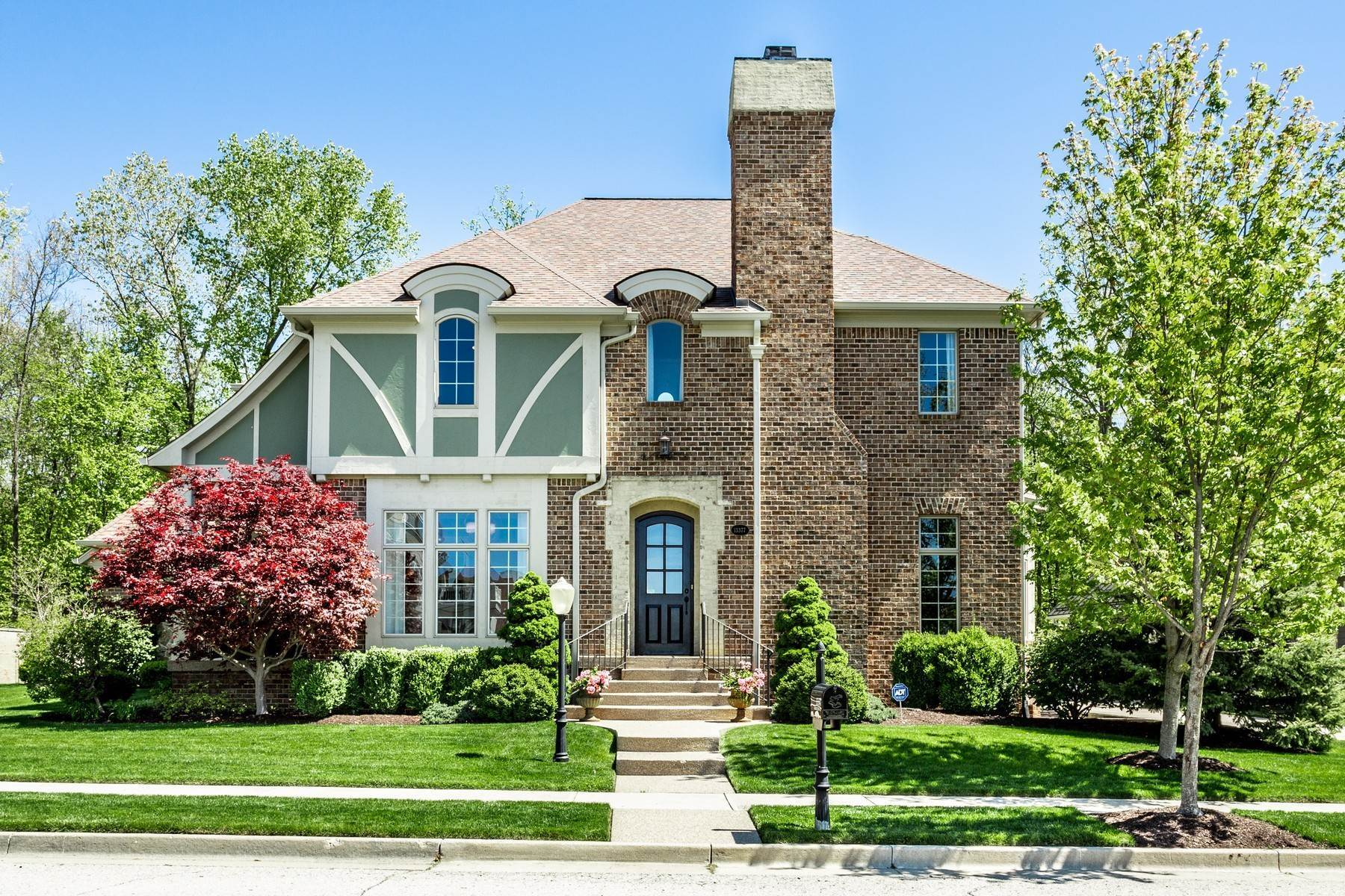Single Family Homes for Sale at Stunning Home in Carmel 13377 Abercorn Street Carmel, Indiana 46032 United States