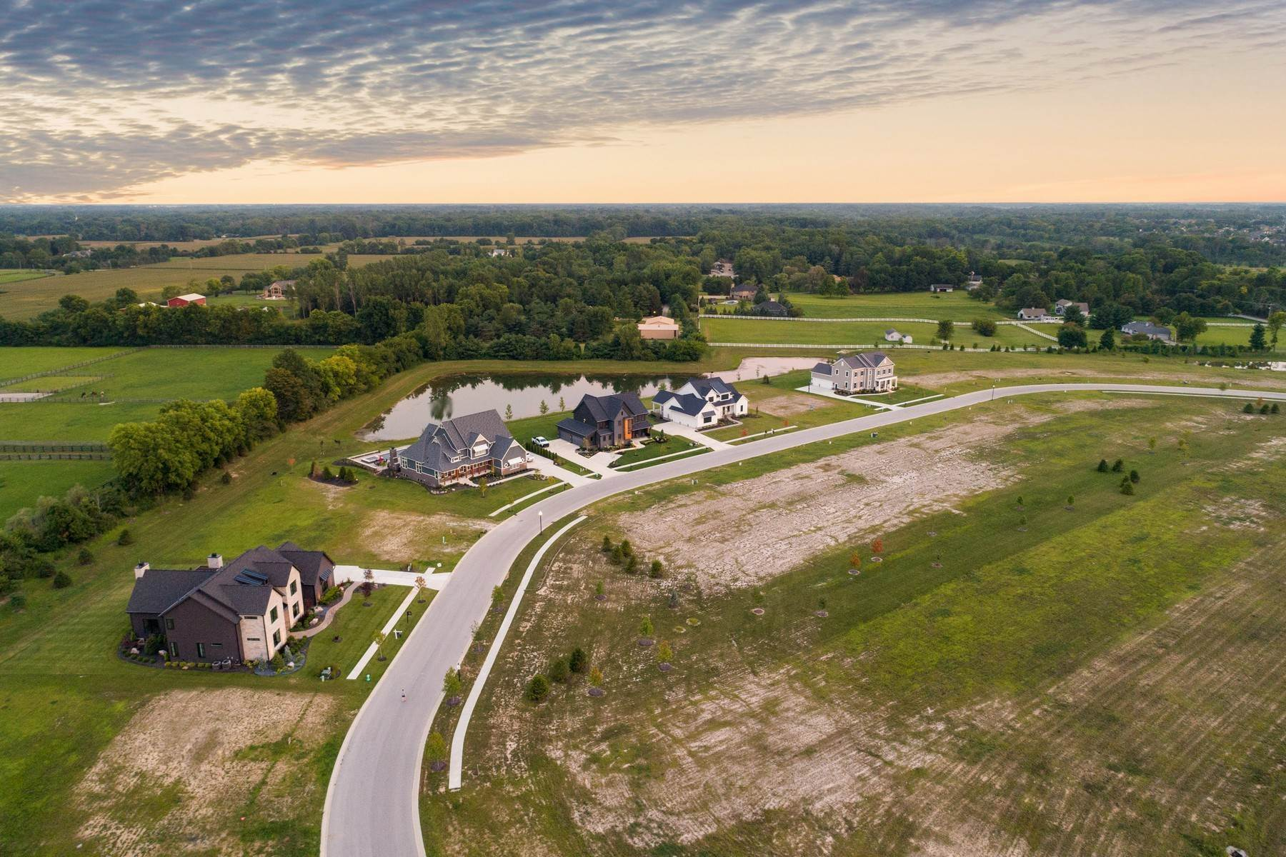 7. Land for Sale at New Zionsville's Development - Pemberton 8080 Totton Court Zionsville, Indiana 46077 United States