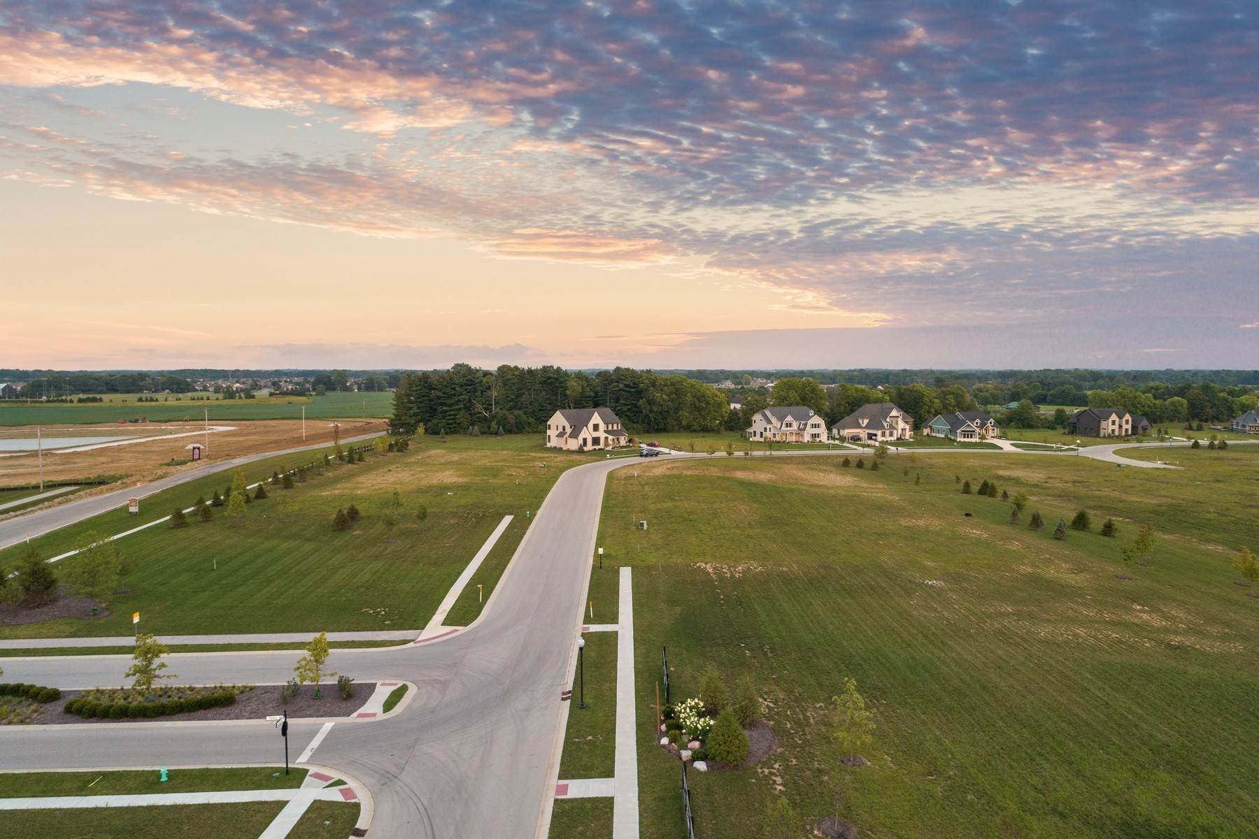 3. Land for Sale at New Zionsville's Development - Pemberton 8080 Totton Court Zionsville, Indiana 46077 United States