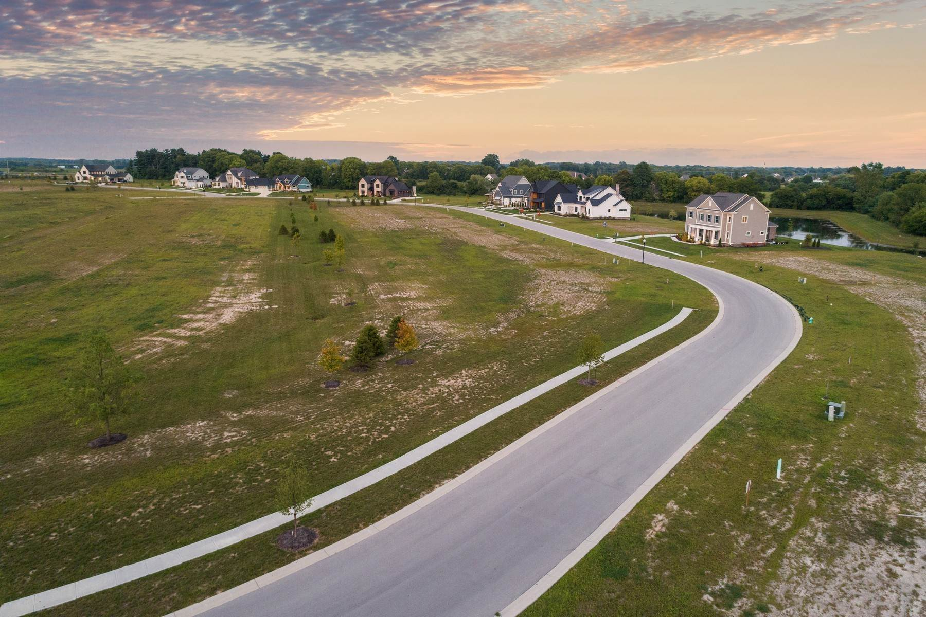 13. Land for Sale at New Zionsville's Development - Pemberton 8150 Melborne Place Zionsville, Indiana 46077 United States