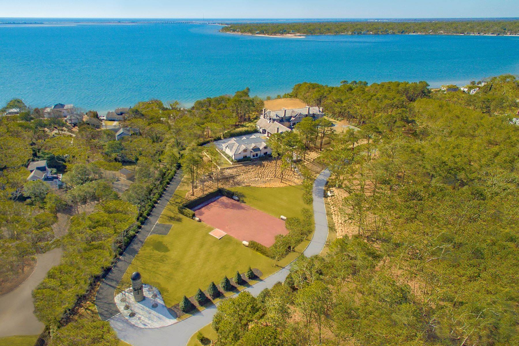 Single Family Homes at Fantastic Southampton Bay View Estate 660 Montauk Highway Southampton, New York 11968 United States